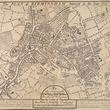 Engraving - Map of Birmingham 1731 (Engraving copy 1860). Drawn by: Thomas Underwood. Engraver: William Westley
