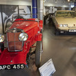 Variety of cars in the Move It Gallery